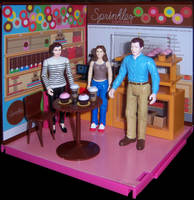 At the Cupcake Bakery by WeirdFantasticToys
