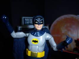 Batman close-up by MisterBill82
