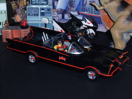 Classic Batmobile by MisterBill82