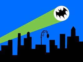 Gotham City Backdrop by MisterBill82