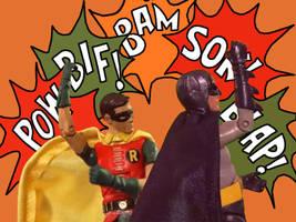 Bat-fight by MisterBill82