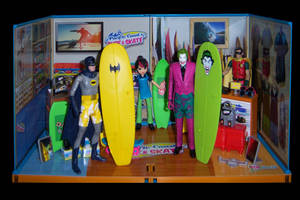 Surfs Up, Jokers Under by WeirdFantasticToys