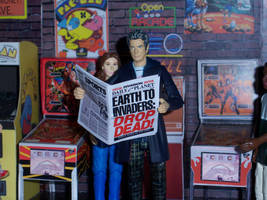 Catching Up With The News by WeirdFantasticToys