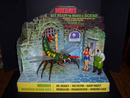 Monster Scenes Store Display by WeirdFantasticToys
