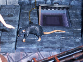 Giant Rat by WeirdFantasticToys