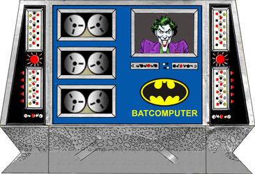 Super Powers Batcomputer Pattern by MisterBill82
