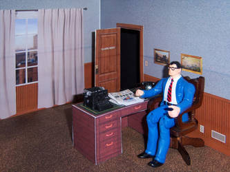 Clark Kent's Office by WeirdFantasticToys