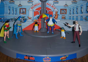 Raid on Penguin's Palace by WeirdFantasticToys
