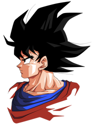 Goku. by BardockSonic