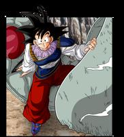 Goku Yadrat by BardockSonic