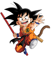 Goku chico DB by BardockSonic