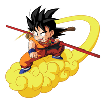 Goku chico Kinton by BardockSonic