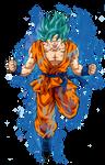 Goku Super Saiyan Blue 2 by BardockSonic