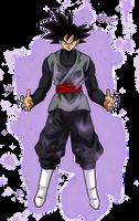 Black Goku Aura by BardockSonic