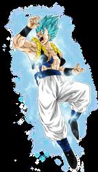 Gogeta Super Saiyan Blue by BardockSonic