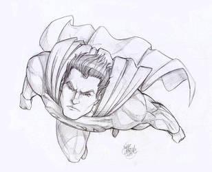Superman by luihzUmreal