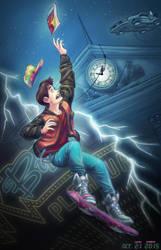 Back to the Future II fanart by luihzUmreal