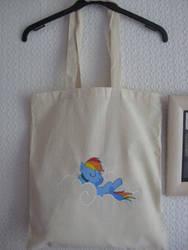 Rainbow Dash bag by OrangeAfterGlow