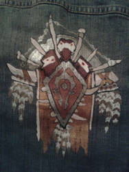For  The Horde! (for sale) by OrangeAfterGlow