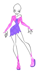 Winx Club: Disco styled Adoptable (SOLD) by ShimmeringMagic