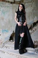 Jeordie as dark lady by malkiss