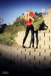 Danca Leggings Red Top 01 by malkiss