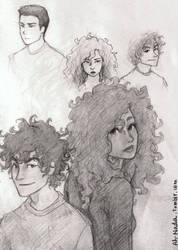 moa doodles by ah-nada