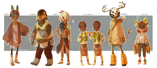 A Little Lost Lineup by Turtle-Arts