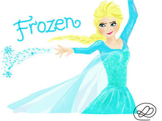 Elsa from Frozen by The-Mocking-JLaw