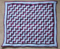 'London Stairs' - my 1st quilt by Esmerelde