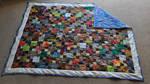 Batik Scrap Quilt Complete by Esmerelde
