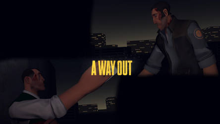 A Way Out (GMod/Photoshop) by TexanGamer13
