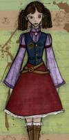 Steampunk 1: Librarian Loli by Luai-lashire