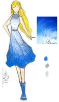 Spring Skies 3- Blue Between by Luai-lashire