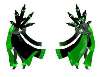MMD WIP: Getting All Up In Zygarde by rubexbox