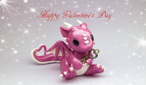 Valentine's Day Dragon by whitemilkcarton