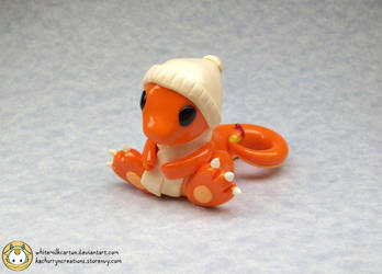 Charmander (Commission) by whitemilkcarton