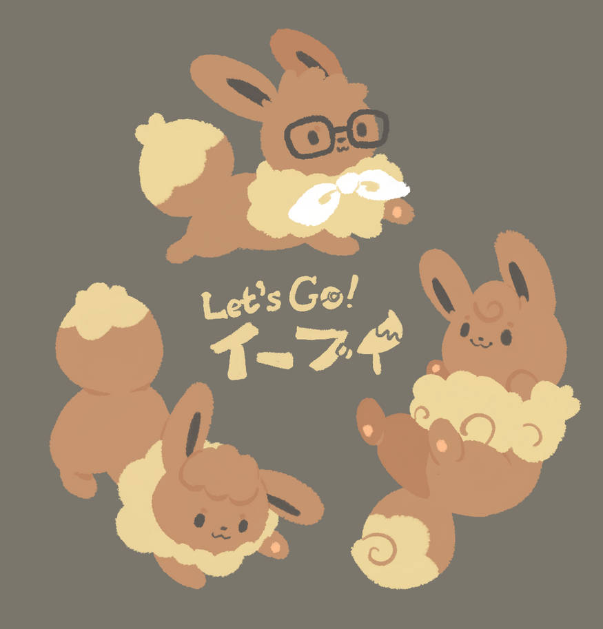 Puffy Eevees by Eledora