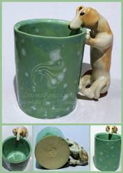 Dachshund mug by LRJProductions