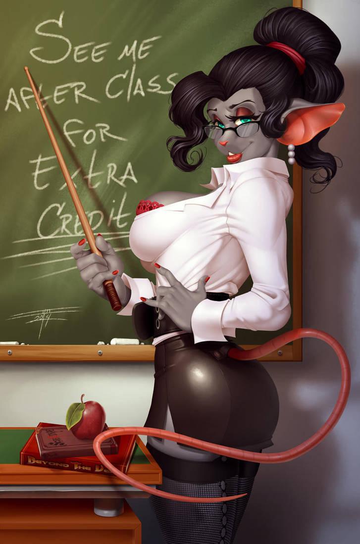 Hot for teacher by Niveus-Diabolus