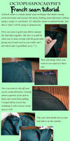 French seam tutorial by Octopusapocalypse