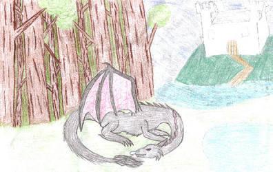 Dragon Sketch 3 by Emocatdragon