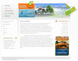 Travel Website by jazzby