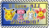 16k: I Love All Pokemon Stamp. by Furugaki