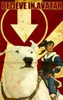 Believe in Avatar Poster 1 by SKstalker