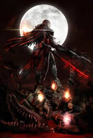 Bloodborne l Bloody Crow of Cainhurst l by SKstalker