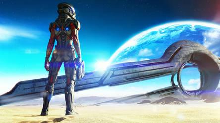 Mass Effect Andromeda by SKstalker