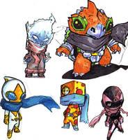 heroesandvillains by Alberto-Rios