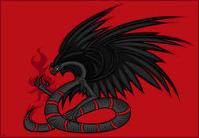 The Six Winged Serpent by Edge14