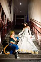Final Fantasy IX Couple by blanklogo